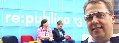 Mit Google Glass auf der re:publica