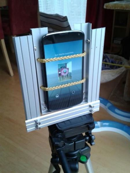 Nodalpunkt Vorrichtung für Google Nexus 4 zum Erstellen von Photosphere