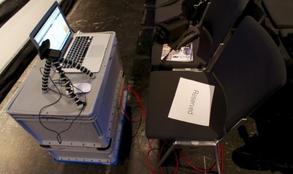 Streaming aus der ersten Zuschauerreihe der InsideAR 2013