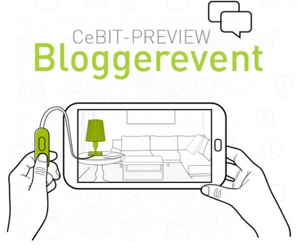 CeBIT-Preview Bloggerevent