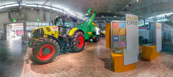 Claas IT-Messe CeBIT 2014 Halle 12 Machine2Machine
