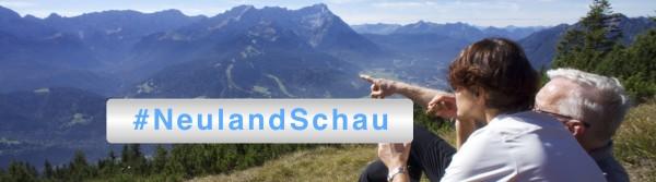 #NeulandSchau – Neues Format auf bloggercamp.tv