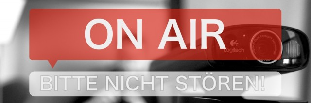 Buchprojekt nimmt Formen an – Livestreaming mit Hangout on Air