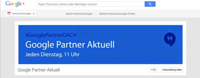 Das könnt Ihr besser, liebe Google Mitarbeiter/innen! #HangoutOnAir