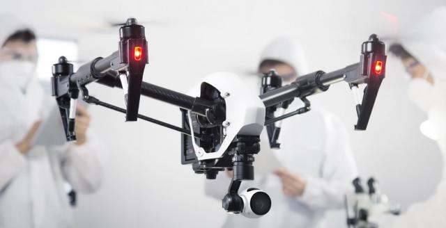 DJI Inspire 1 die Alleskönner Kamera-Drohne