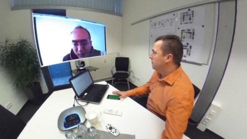 Videokonferenz mit der Logitech Conference Cam CC 3000e