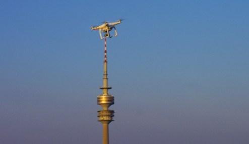 DJI Phantom 3 Hightech aus Shenzen über München
