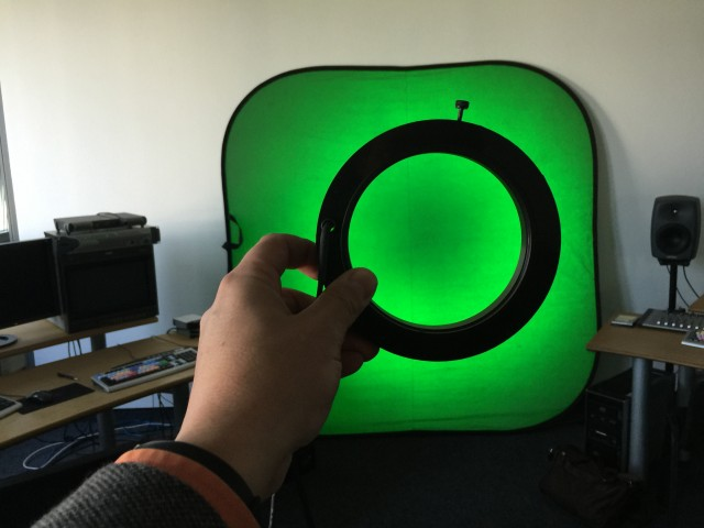 Chroma Keying mit LED-Ring