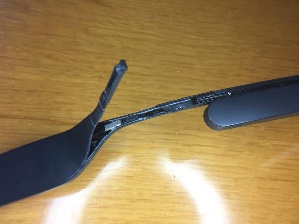 Gebrauchte #GoogleGlass wird zum teuren Elektronikschrott- kein Austausch keine Reparatur!