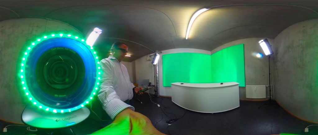 Greenscreen Chroma Keying mit LED selbst bauen