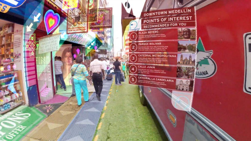 Hyper Reality- Dystopische Augmented Reality Zukunftsvision von Keiichi Matsuda