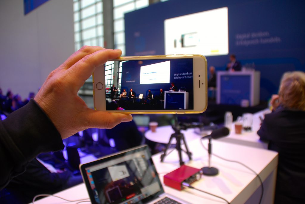 Kardinalfehler beim Livestreaming – Beitrag im @uploadmag