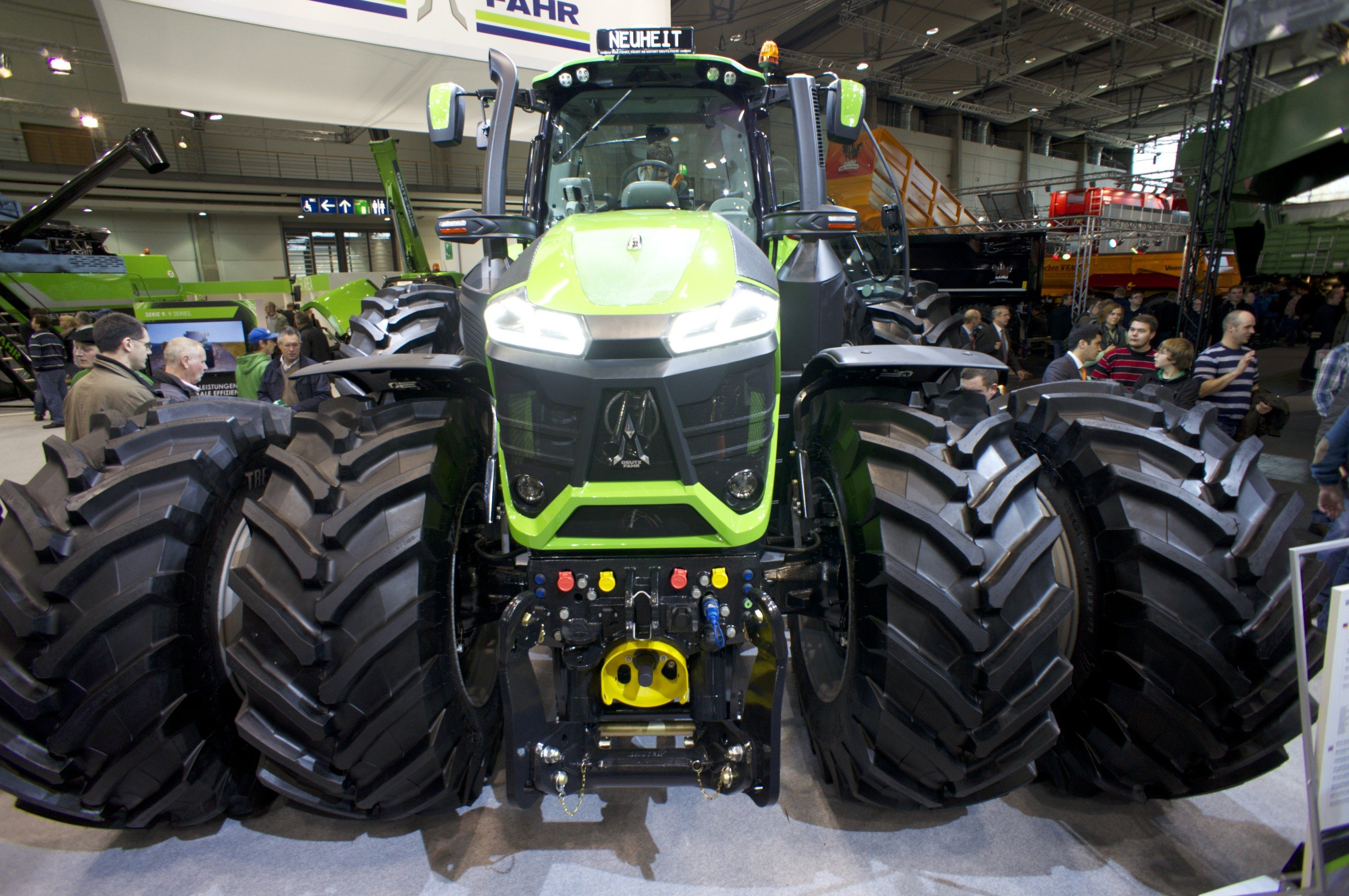 3 Tage – 20 Videos – 40.000 YouTube Abrufe – AGRITECHNICA.TV
