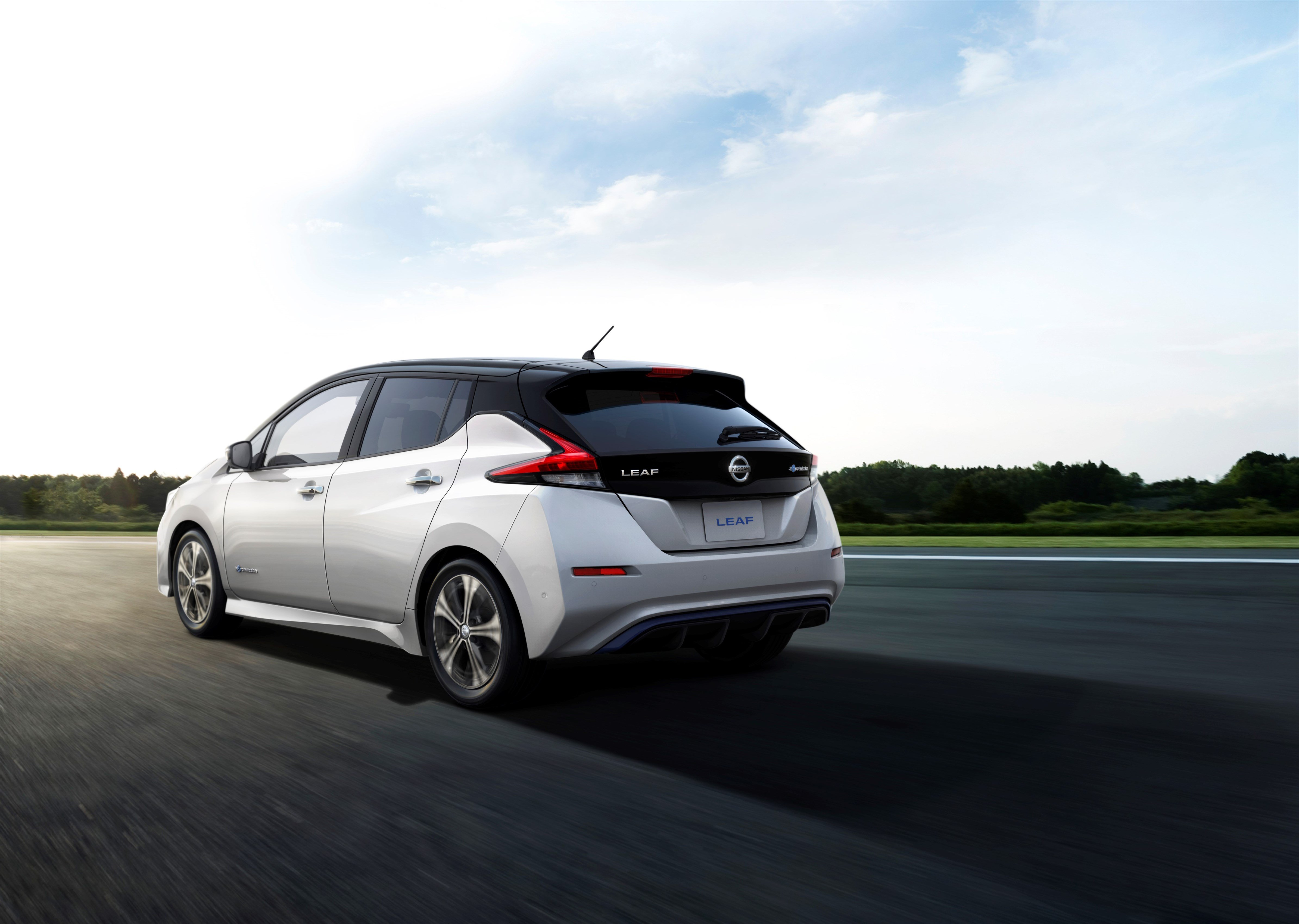 Nissan Leaf 2.0 am Montag geht es los