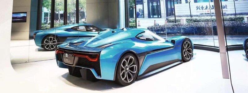 Chinesischer Elektroautohersteller NIO eröffnet Flagshipstore in Shanghai